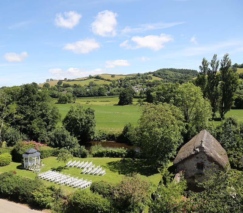 Licensed Civil Wedding Venues near Tiverton, Devon