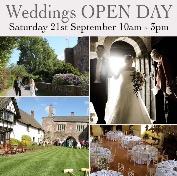 Bickleigh Castle Weddings Open Day